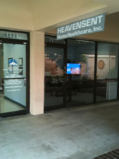 Heavensent Home Healthcare Office